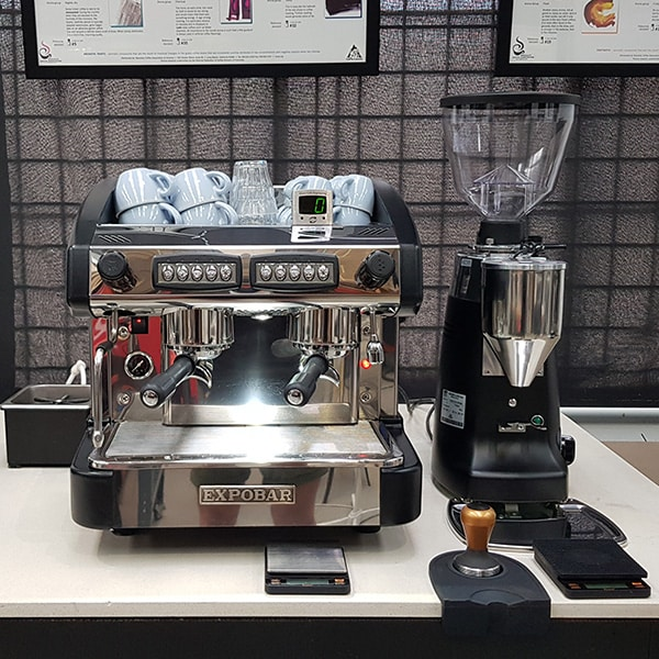 Barista school workstation 2